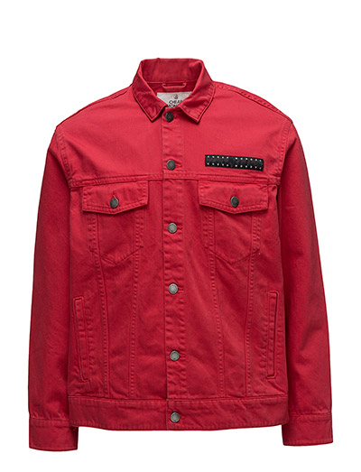 Cred Jacket OD Red - Red denim