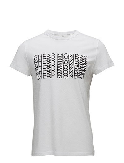 Unity tee Repeat logo - White