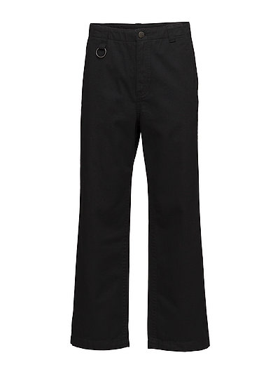 Solid trousers Black - Black