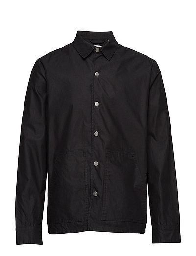 Out jacket Crew cut logo - BLACK