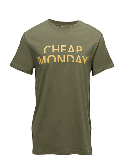 Standard tee Spliced cheap - Bleached olive
