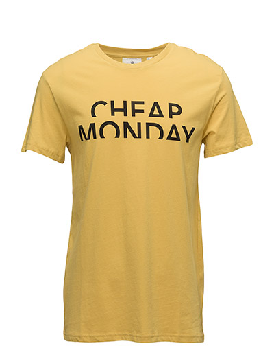 Standard tee Spliced cheap - Dirty yellow