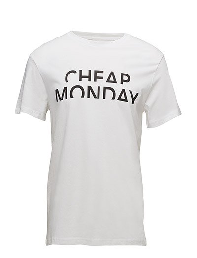 Standard tee Spliced cheap - White