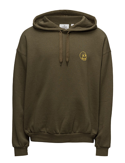 Goal hood Faint skull mini - Dark olive