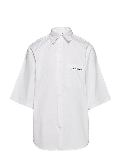 Fuse shirt Security logo - WHITE