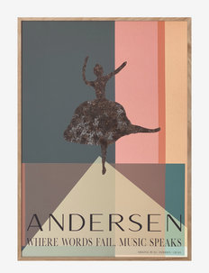 H.C. Andersen - Music Speaks - dekorationer - multiple color