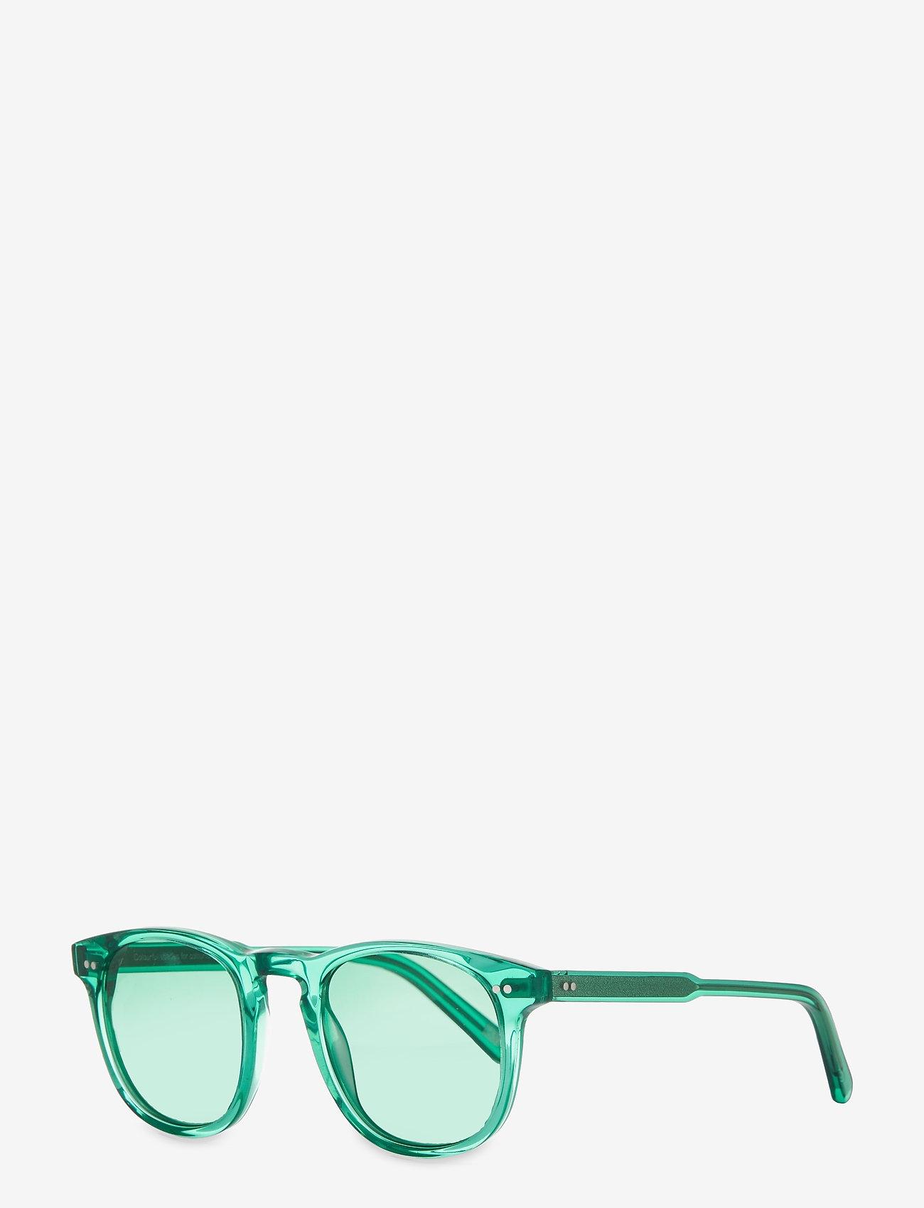 Chimi Eyewear - AQUA 001 CLR - rund ramme - light blue - 1