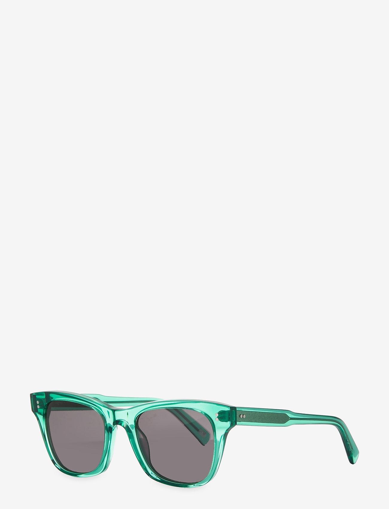 Chimi Eyewear - AQUA 007 BLK - d-shaped - light blue - 1