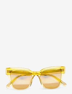 MANGO 005 MIRR - d-shaped - yellow