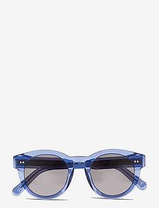ACAI 003 BLK - round frame - dark blue