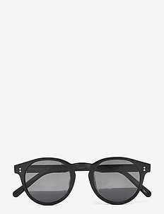 03 BLACK - ronde zonnebril - black