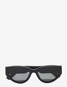 06 BLACK - ronde zonnebril - black