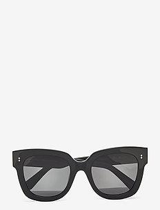 08 BLACK - d-vormige zonnebril - black