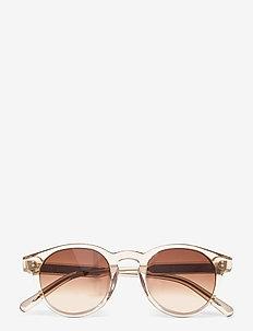 03 ECRU - ronde zonnebril - ecru