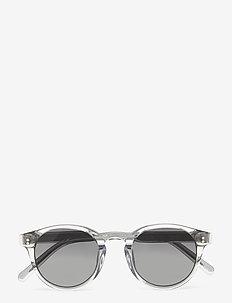 03 GREY - ronde zonnebril - grey