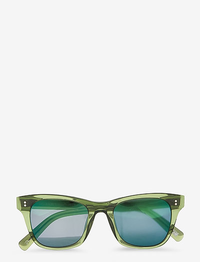 KIWI 005 MIRR - d-shaped - green
