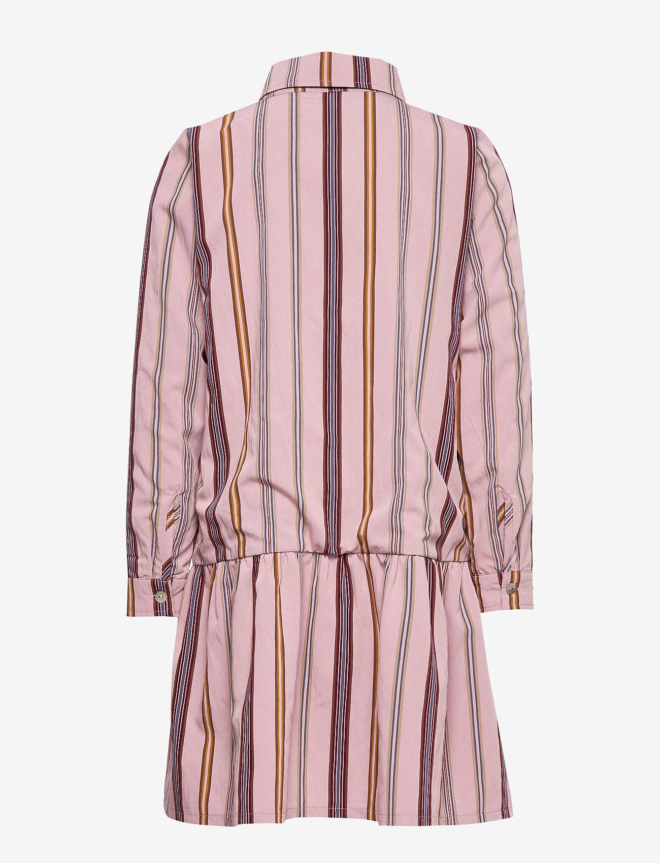 Christina Rohde - Dress No. 120 - kjoler - pale rose stripe - 1