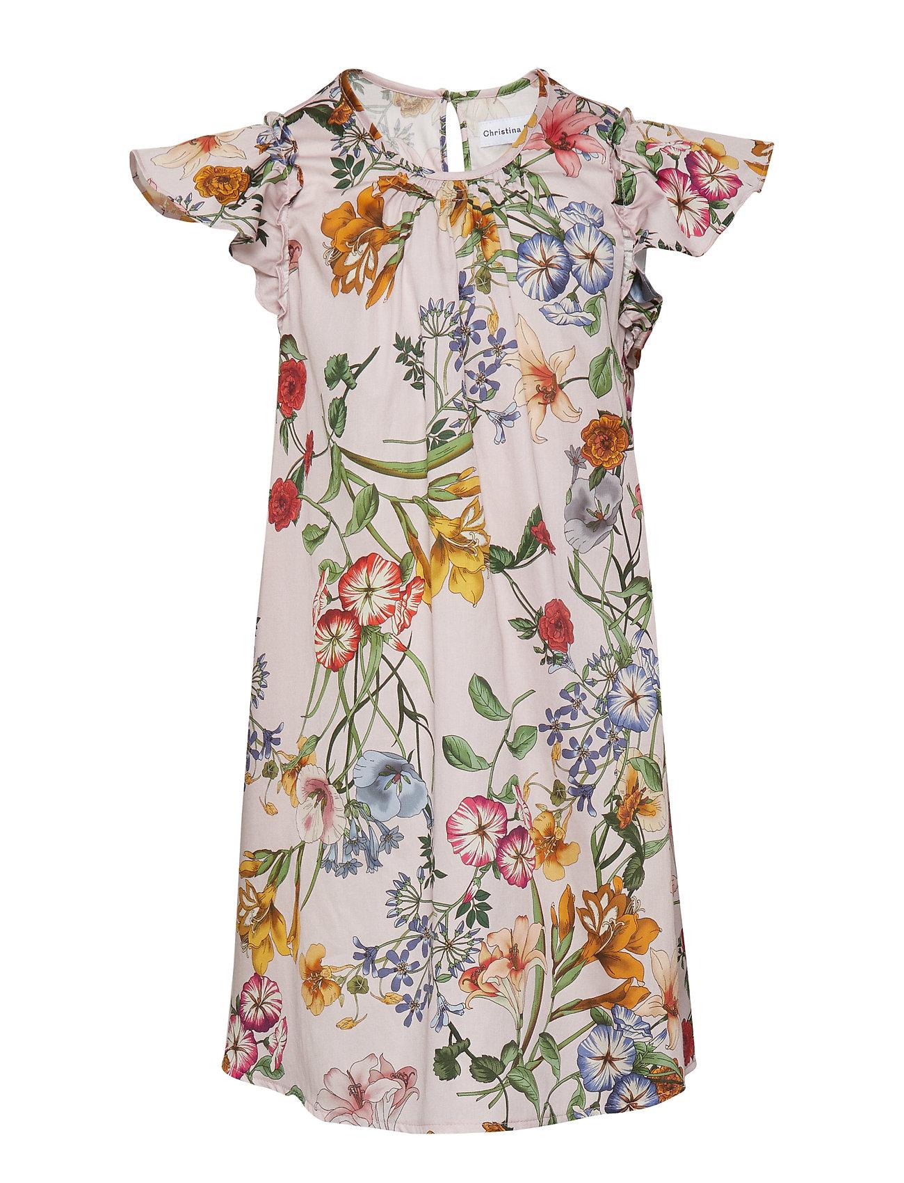 a689624f7c5 Christina Rohde kjoler – Dress No. 101 til børn i PALE ROSE MULTI ...