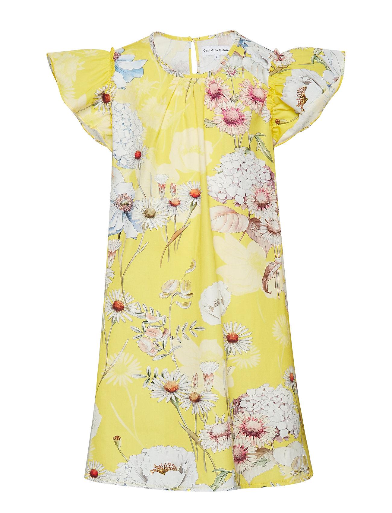 Image of Dress No. 101 Kjole Gul Christina Rohde (3123580533)