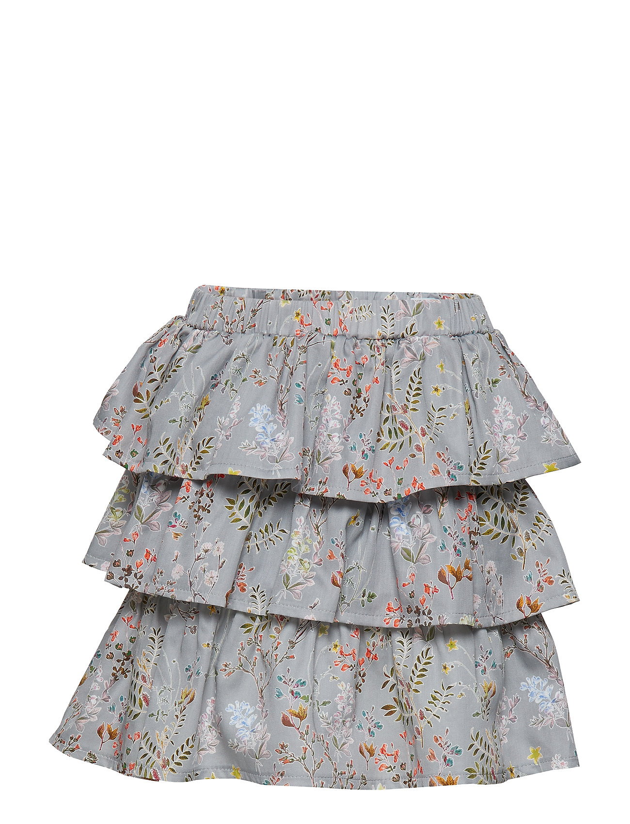 Christina Rohde Skirt No. 203 - GREY MULTI FLOWER