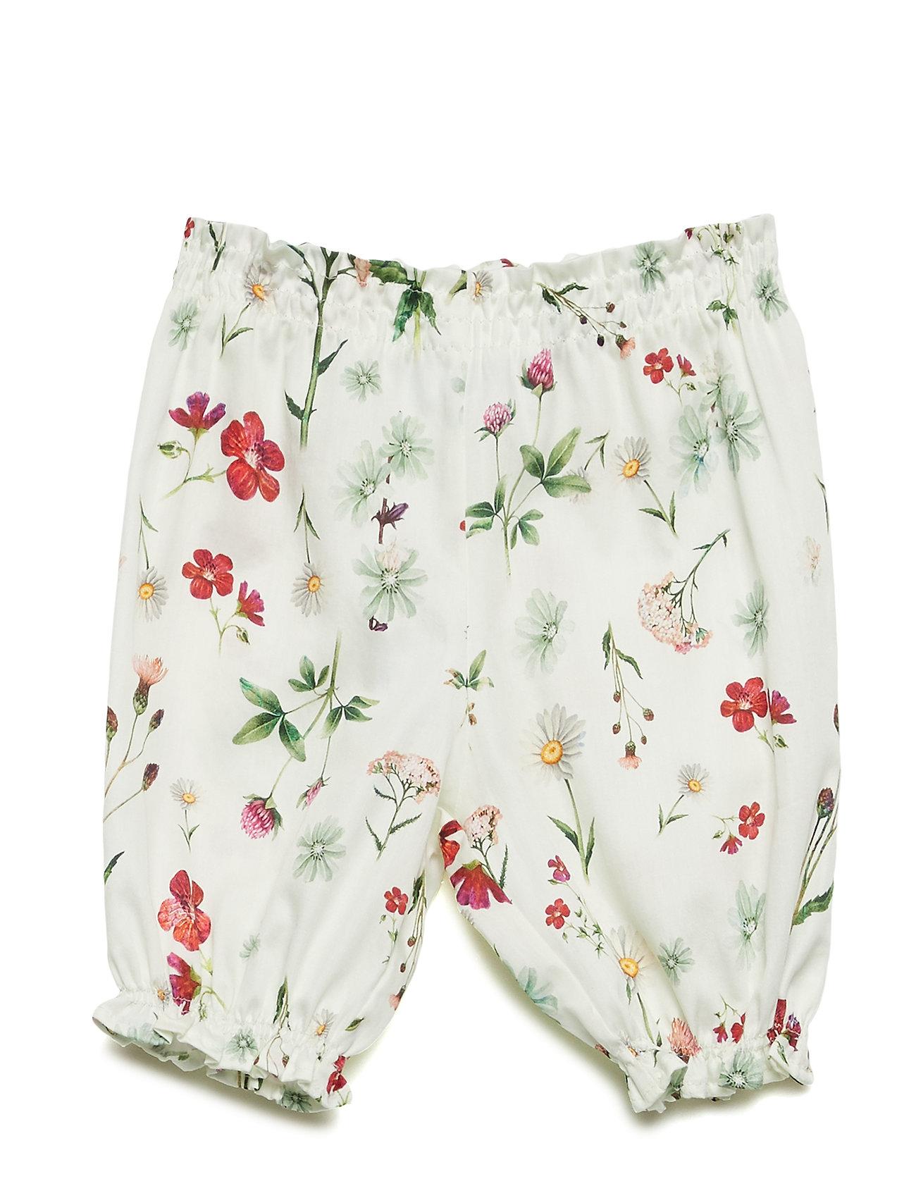Christina Rohde Pants No. 833 - WHITE MULTI FLOWER