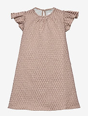 Christina Rohde - Dress No. 101 - kjoler - pale rose glitter - 0