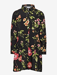 Christina Rohde - Dress No. 120 - kjoler - black flowers - 0