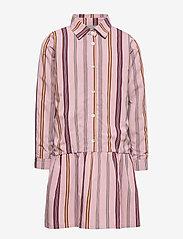 Christina Rohde - Dress No. 120 - kjoler - pale rose stripe - 0