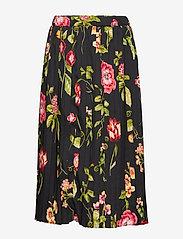 Christina Rohde - Skirt No. 213 - skjørt - black flowers - 0