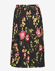 Christina Rohde - Skirt No. 213 - skjørt - black flowers - 1