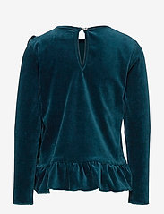 Christina Rohde - Top No. 428 - langermede t-skjorter - dark green - 1