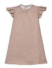 Dress No. 101 - PALE ROSE GLITTER