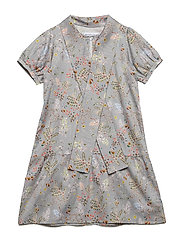 Dress No. 117 - GREY MULTI FLOWER
