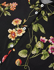 Christina Rohde - Dress No. 120 - kjoler - black flowers - 2