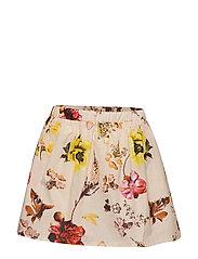 Skirt No. 202 - LIGHT YELLOW FLOWERS