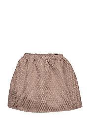 Skirt No. 202 - PALE ROSE GLITTER
