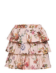 Skirt No. 203 - PALE ROSE FLOWERS