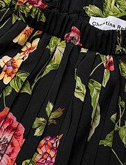 Christina Rohde - Skirt No. 213 - skjørt - black flowers - 2