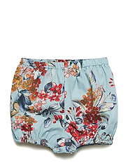 Shorts No. 819 - LIGHT BLUE FLOWERS