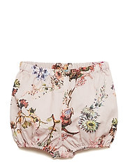 Shorts No. 819 - PALE ROSE FLOWERS
