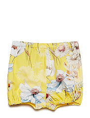 Shorts No. 819 - YELLOW MULTI FLOWER