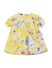 Dress No. 836 - YELLOW MULTI FLOWER