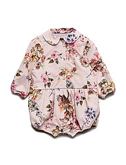 Romper No. 840 - PALE ROSE FLOWERS