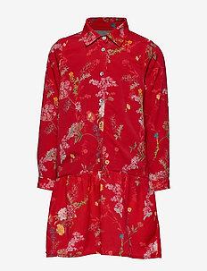 Dress No. 120 - RED FLOWERS