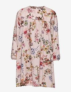 Dress No. 130 - PALE ROSE FLOWERS