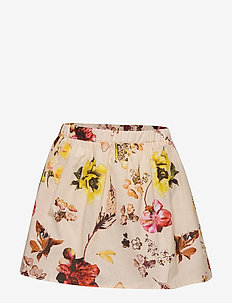 Skirt No. 202 - LIGHT YELLOW FLOWERS