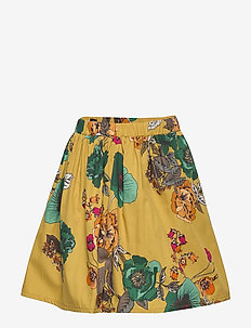 Skirt No. 202 - MUSTARD FLOWERS