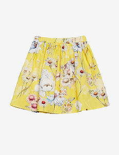 Skirt No. 202 - YELLOW MULTI FLOWER