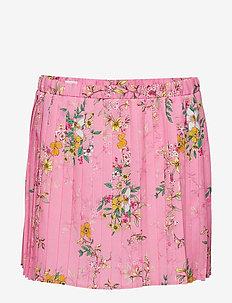 Skirt No. 206 - PINK MULTI FLOWER