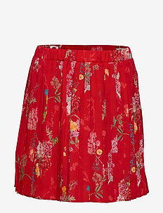 Skirt No. 206 - skjørt - red flowers